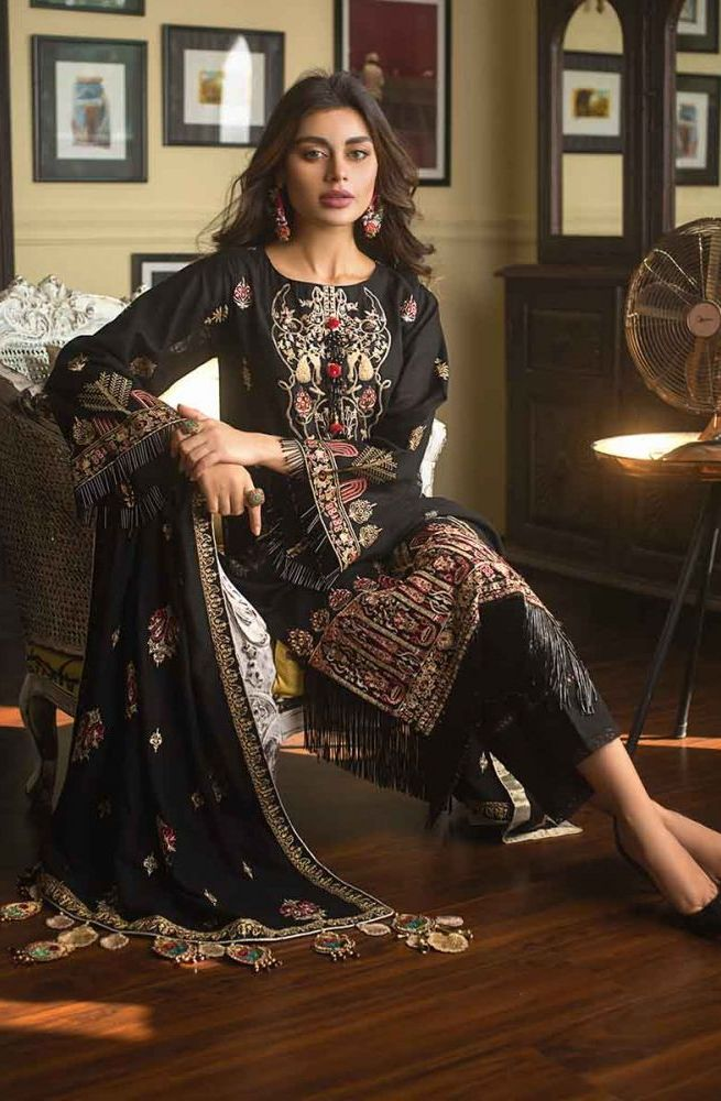 Gul Ahmed Latest Winter Collection 2019 (11)