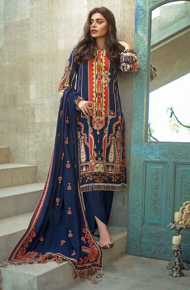 Gul Ahmed Latest Winter Collection 2019 (12)