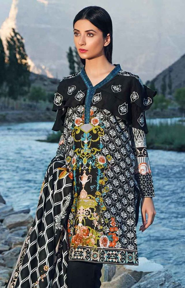 Gul Ahmed Latest Winter Collection 2019 (14)
