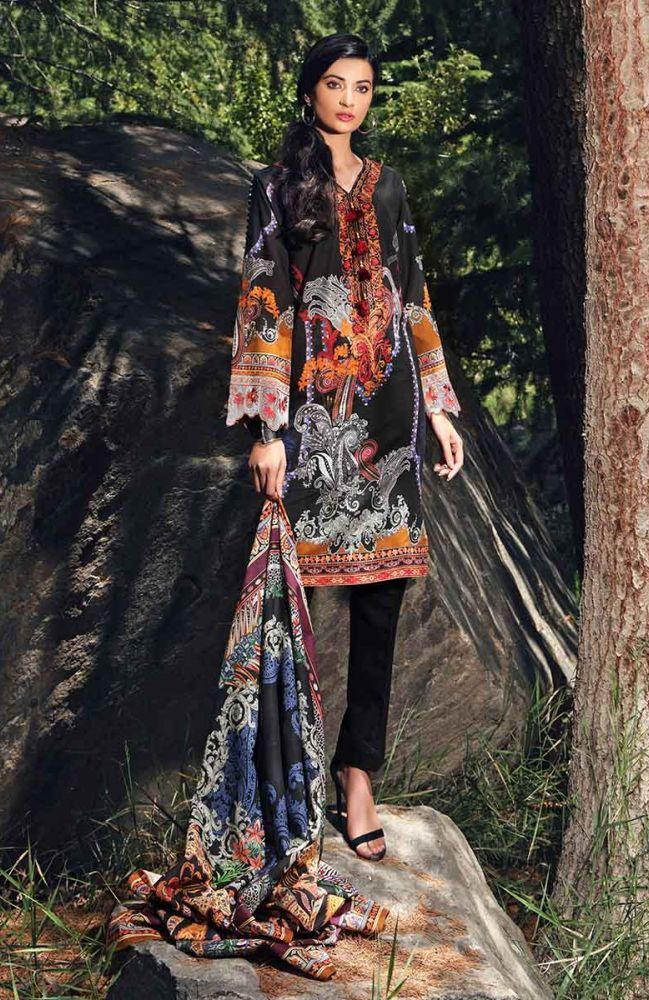 Gul Ahmed Latest Winter Collection 2019 (17)