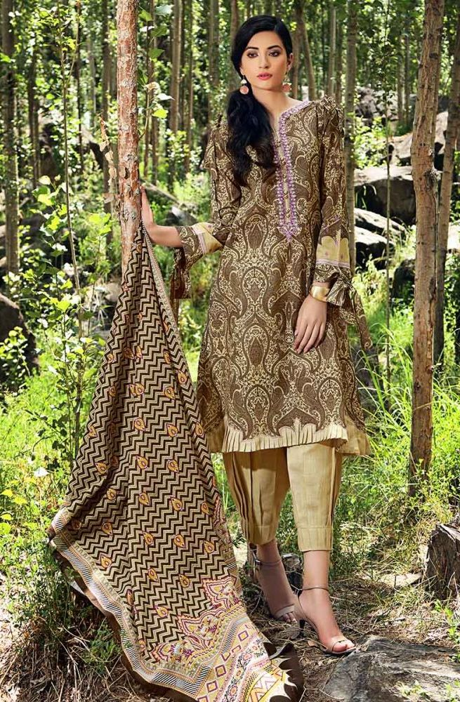 Gul Ahmed Latest Winter Collection 2019 (19)