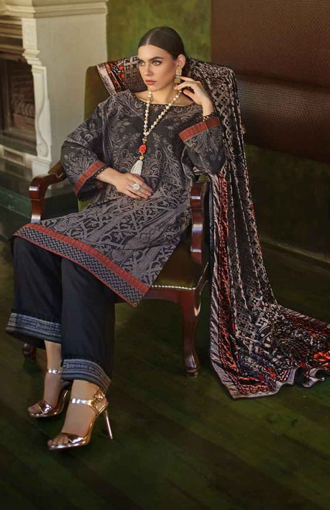Gul Ahmed Latest Winter Collection 2019 (2)