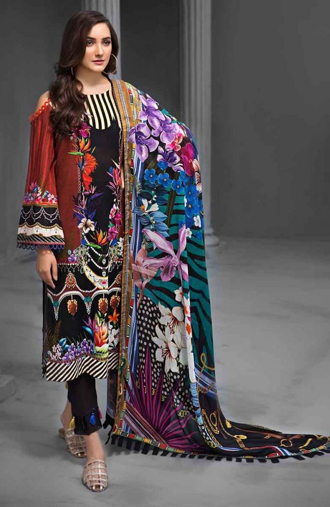 Gul Ahmed Latest Winter Collection 2019 (26)