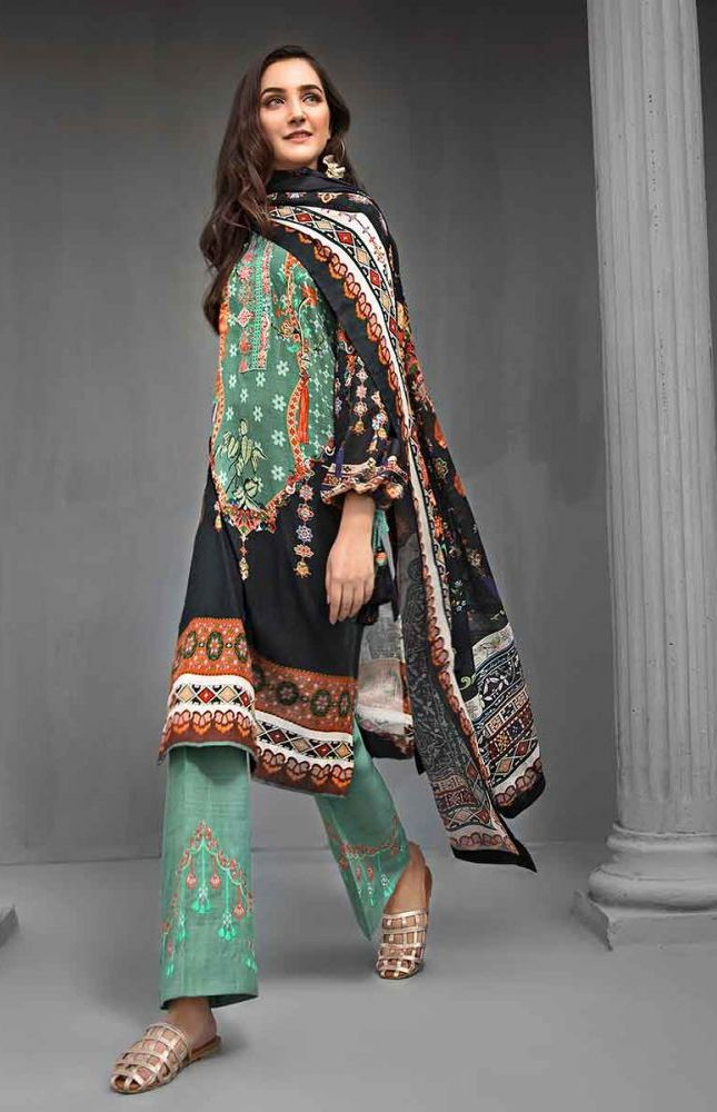 Gul Ahmed Latest Winter Collection 2019 (27)