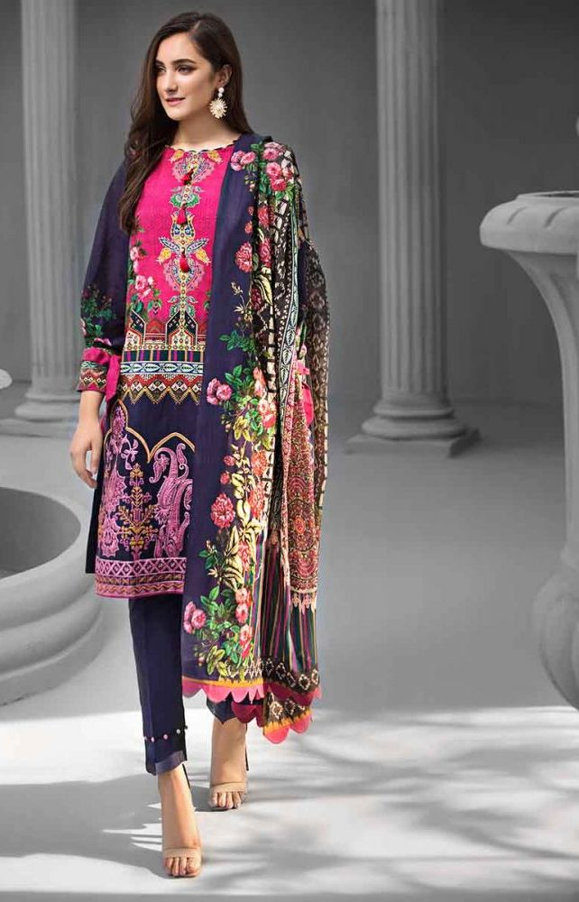 Gul Ahmed Latest Winter Collection 2019 (29)