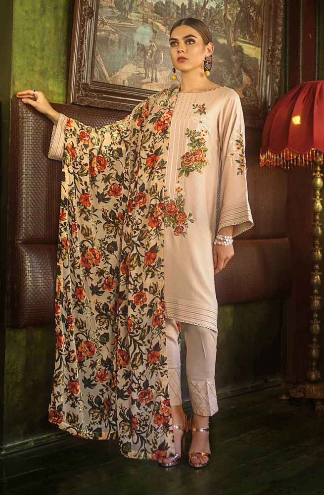 Gul Ahmed Latest Winter Collection 2019 (3)