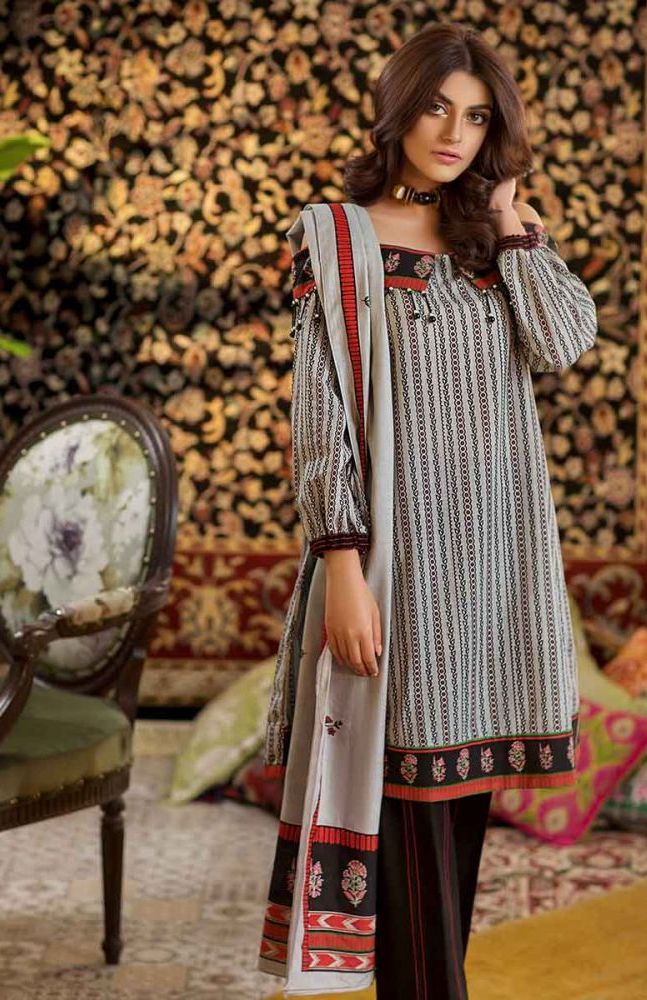 Gul Ahmed Latest Winter Collection 2019 (31)