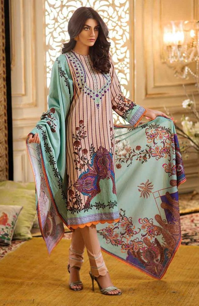Gul Ahmed Latest Winter Collection 2019 (32)