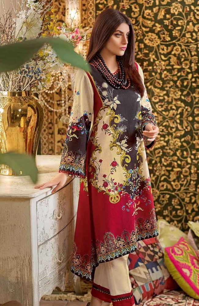 Gul Ahmed Latest Winter Collection 2019 (33)