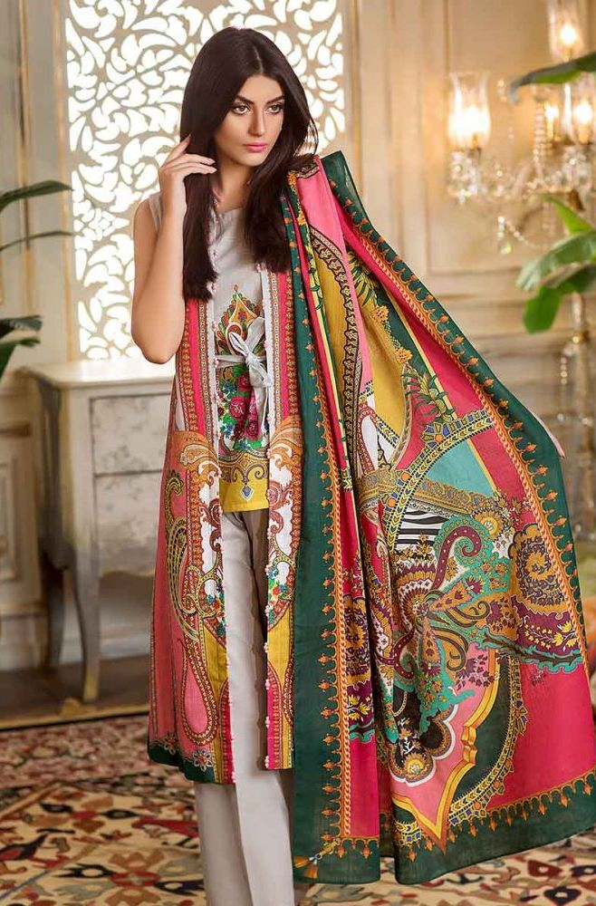 Gul Ahmed Latest Winter Collection 2019 (34)