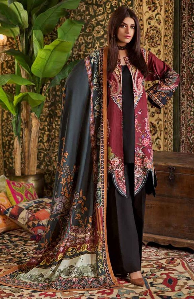 Gul Ahmed Latest Winter Collection 2019 (35)Gul Ahmed Latest Winter Collection 2019 (35)