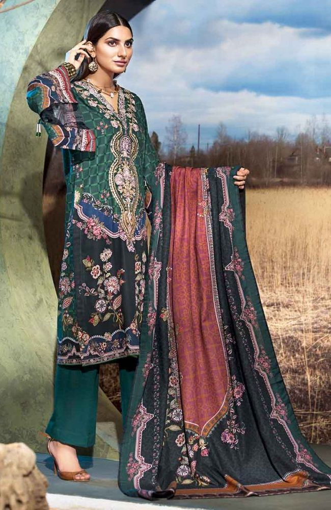 Gul Ahmed Latest Winter Collection 2019 (37)