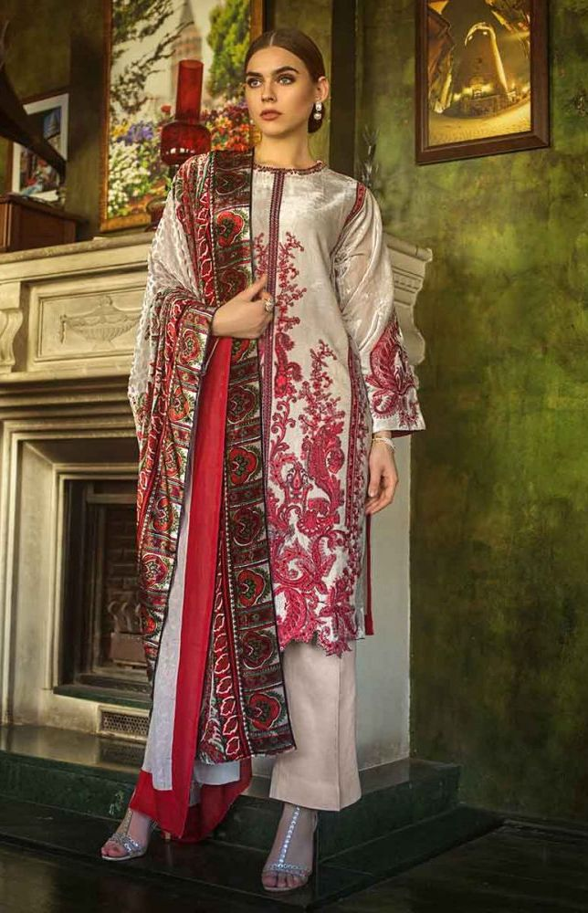 Gul Ahmed Latest Winter Collection 2019 (4)