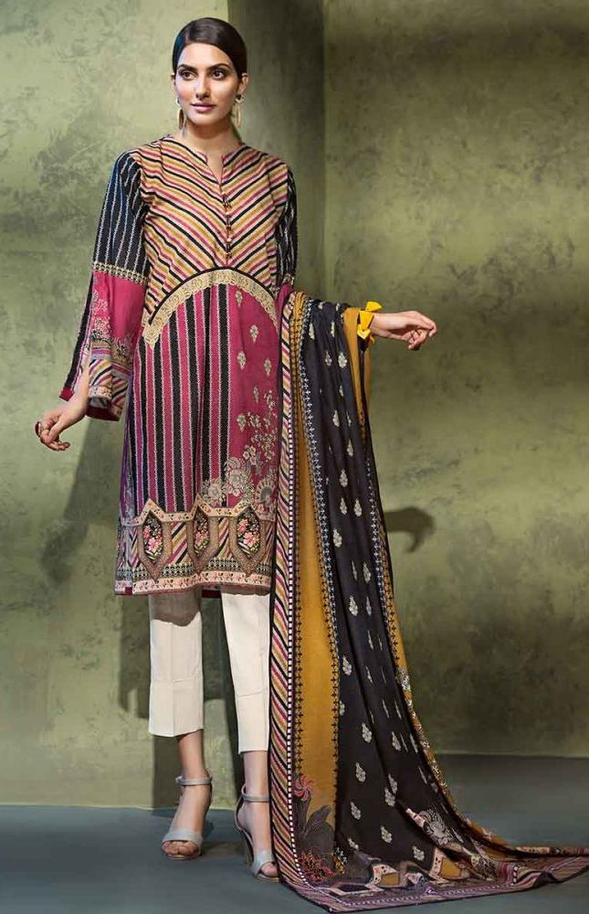 Gul Ahmed Latest Winter Collection 2019 (42)
