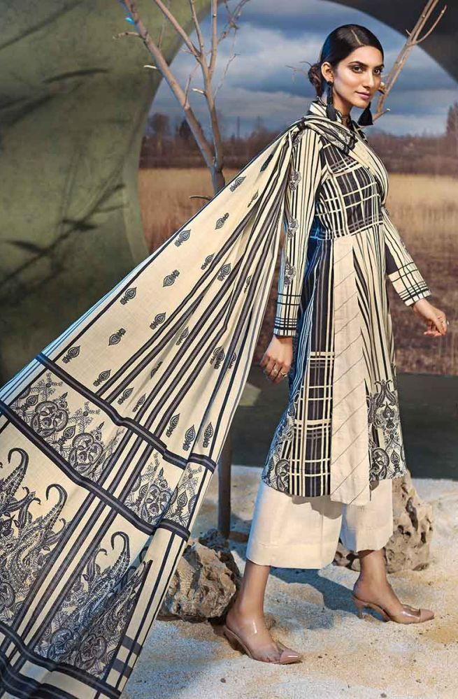 Gul Ahmed Latest Winter Collection 2019 (44)