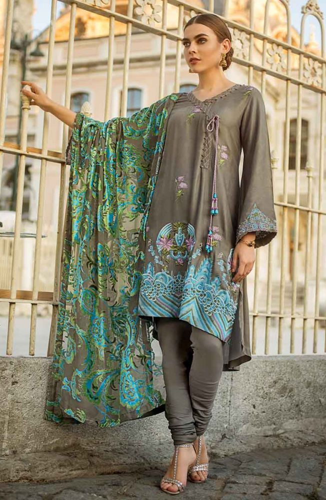 Gul Ahmed Latest Winter Collection 2019 (7)