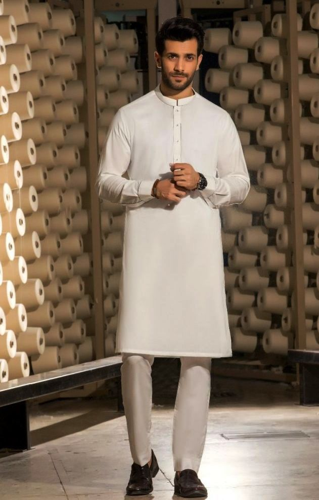 Gul Ahmed Men's Unstitched Winter Dresses Collection 2019 (11)