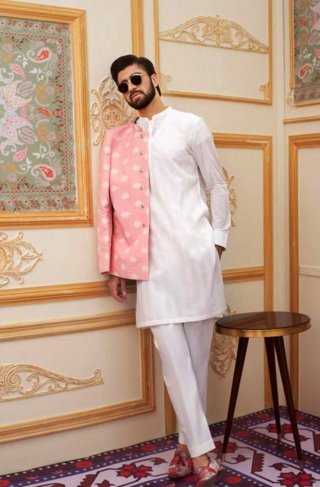Gul Ahmed Men's Unstitched Winter Dresses Collection 2019 (12)