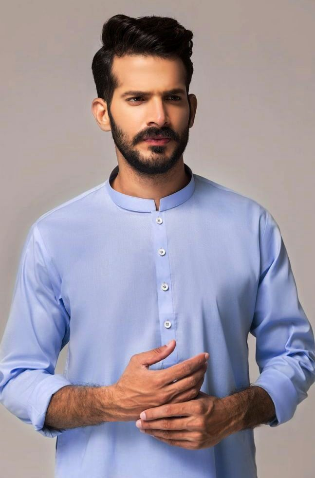 Gul Ahmed Men's Unstitched Winter Dresses Collection 2019 (15)