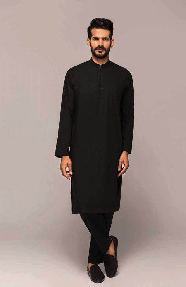 Gul Ahmed Men's Unstitched Winter Dresses Collection 2019 (18)