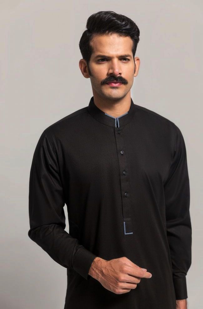Gul Ahmed Men's Unstitched Winter Dresses Collection 2019 (23)