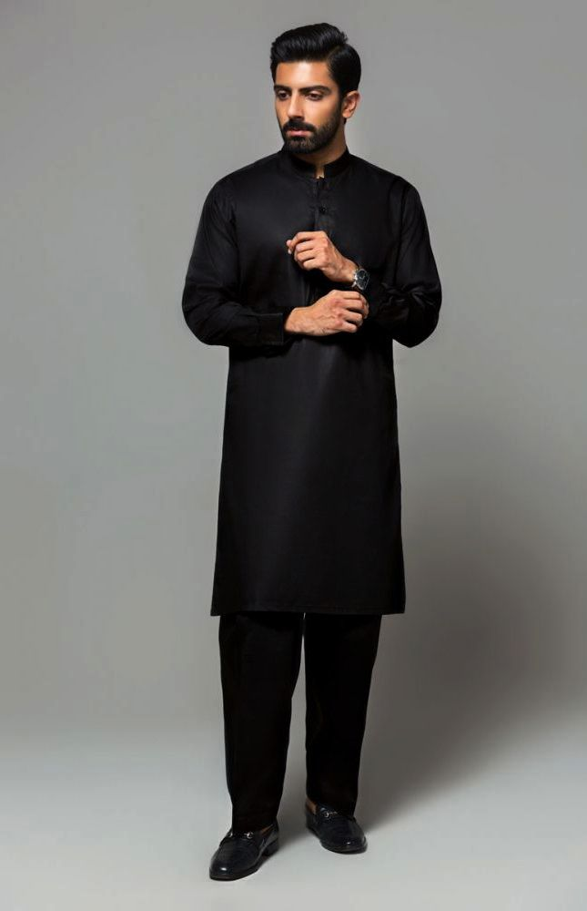 Gul Ahmed Men's Unstitched Winter Dresses Collection 2019 (34)