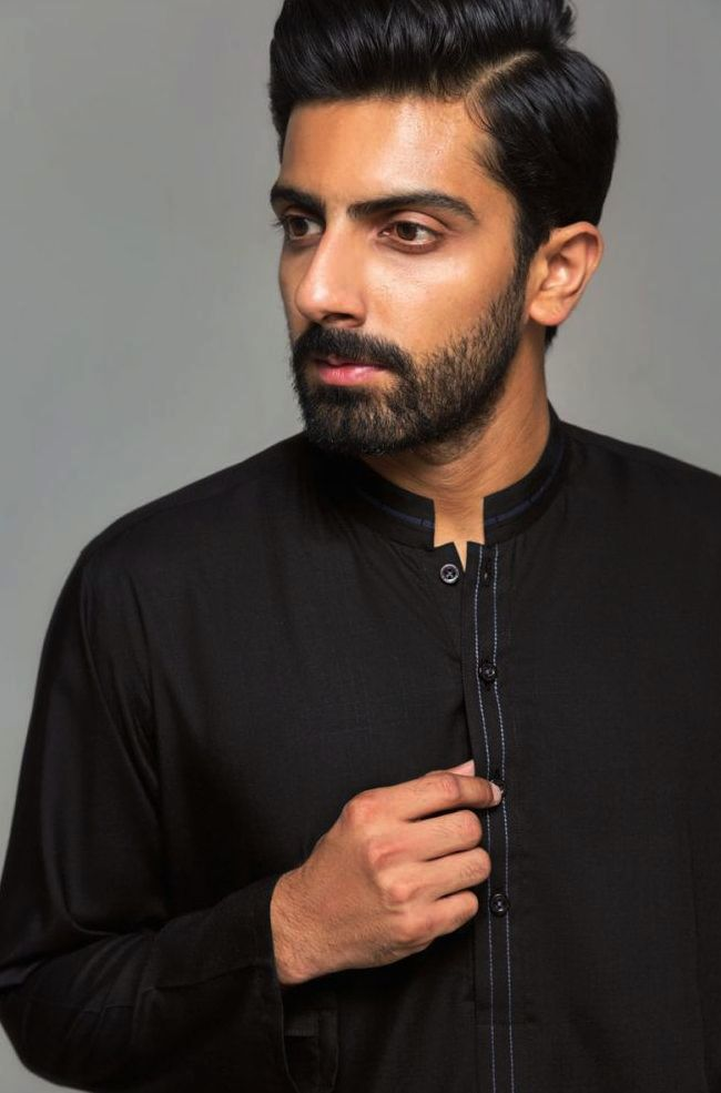 Gul Ahmed Men's Unstitched Winter Dresses Collection 2019 (43)
