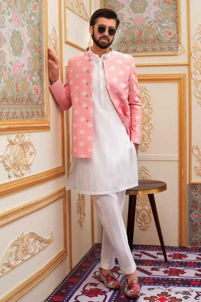 Gul Ahmed Men's Unstitched Winter Dresses Collection 2019 (5)