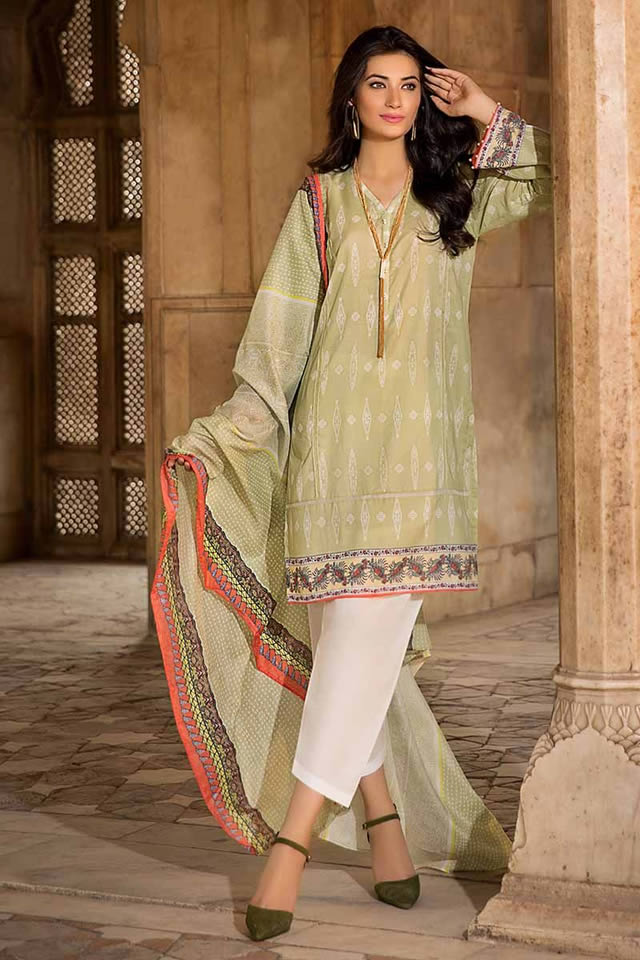 Gul Ahmed Two Piece Winter Collection 2019 (12)