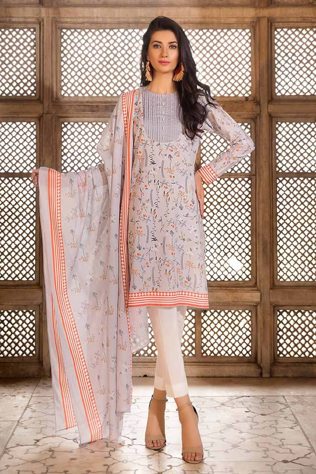 Gul Ahmed Two Piece Winter Collection 2019 (3)