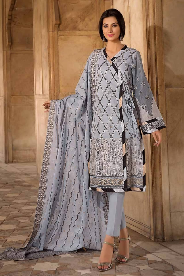 Gul Ahmed Two Piece Winter Collection 2019 (4)