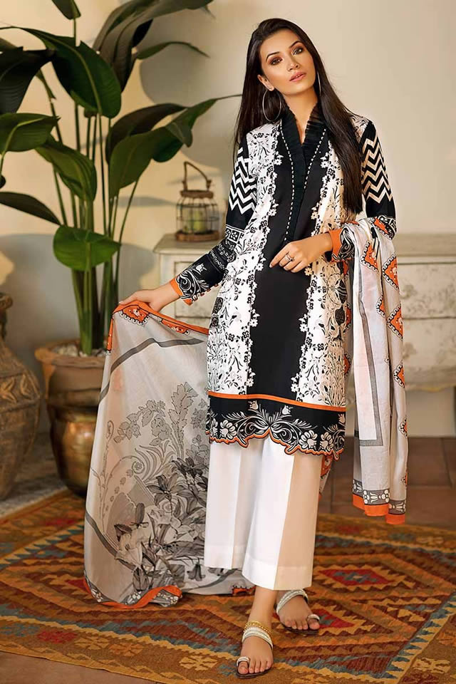 Gul Ahmed Two Piece Winter Collection 2019 (6)