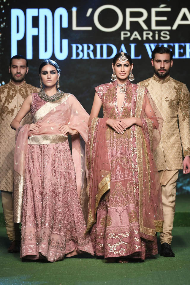 HSY Showcased Bridal Empire Collection at PFDC LOreal Paris 2019 (11)