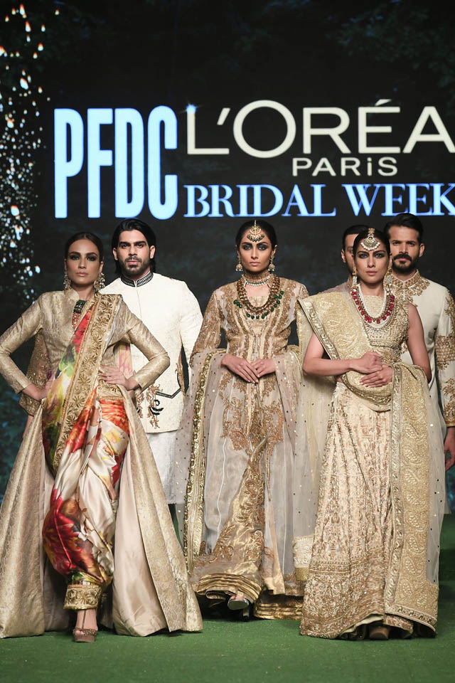 HSY Showcased Bridal Empire Collection at PFDC LOreal Paris 2019 (12)