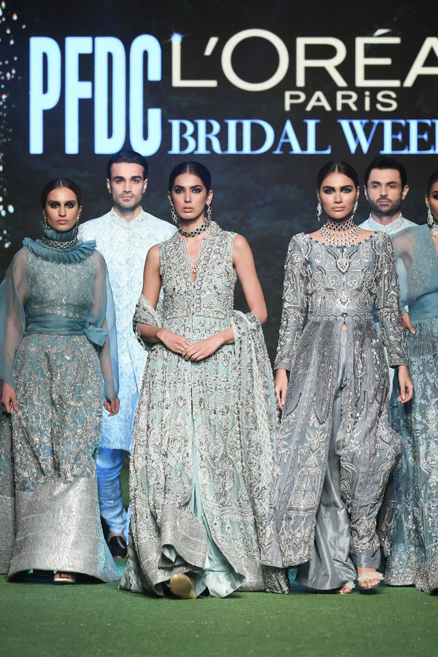 HSY Showcased Bridal Empire Collection at PFDC LOreal Paris 2019 (13)