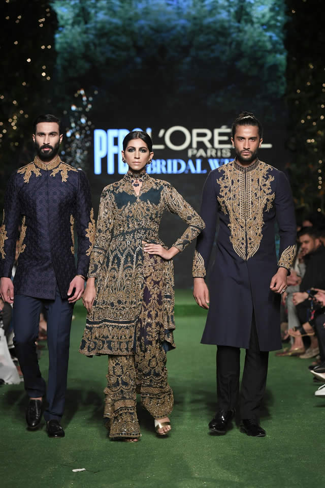 HSY Showcased Bridal Empire Collection at PFDC LOreal Paris 2019 (14)