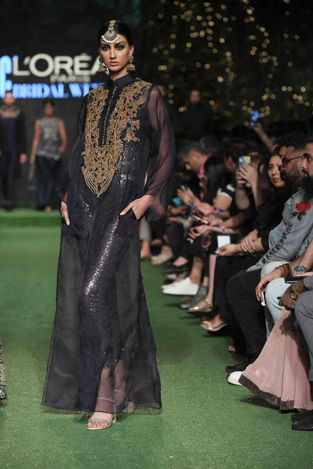 HSY Showcased Bridal Empire Collection at PFDC LOreal Paris 2019 (16)