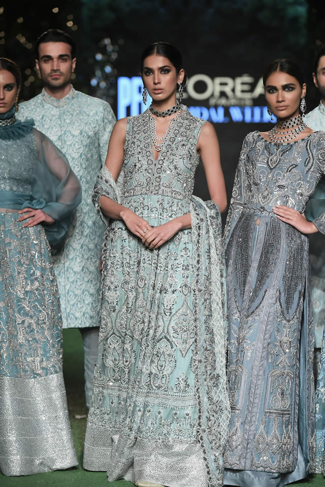 HSY Showcased Bridal Empire Collection at PFDC LOreal Paris 2019 (17)