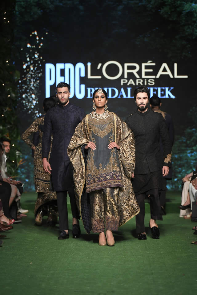 HSY Showcased Bridal Empire Collection at PFDC LOreal Paris 2019 (20)