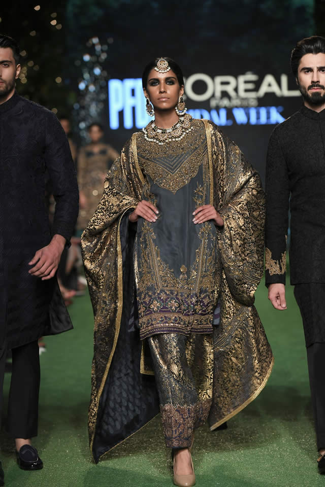 HSY Showcased Bridal Empire Collection at PFDC LOreal Paris 2019 (23)