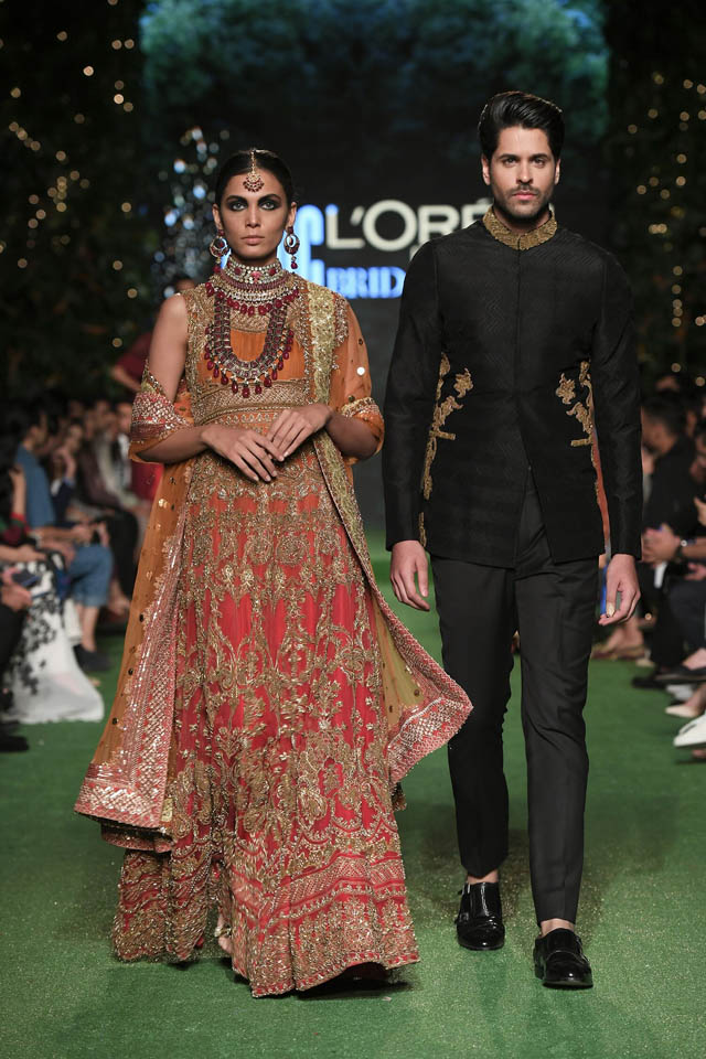 HSY Showcased Bridal Empire Collection at PFDC LOreal Paris 2019 (24)