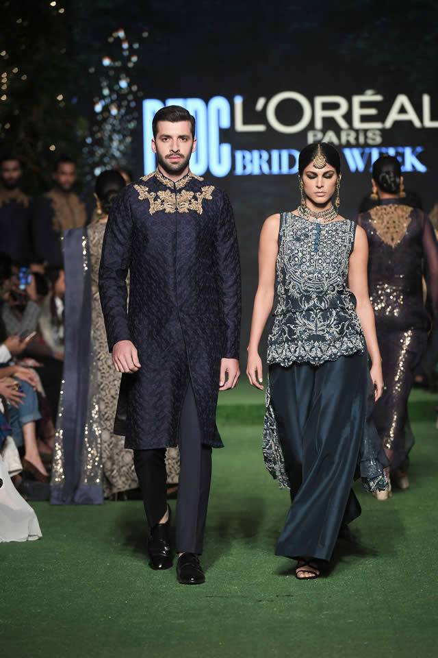 HSY Showcased Bridal Empire Collection at PFDC LOreal Paris 2019 (4)