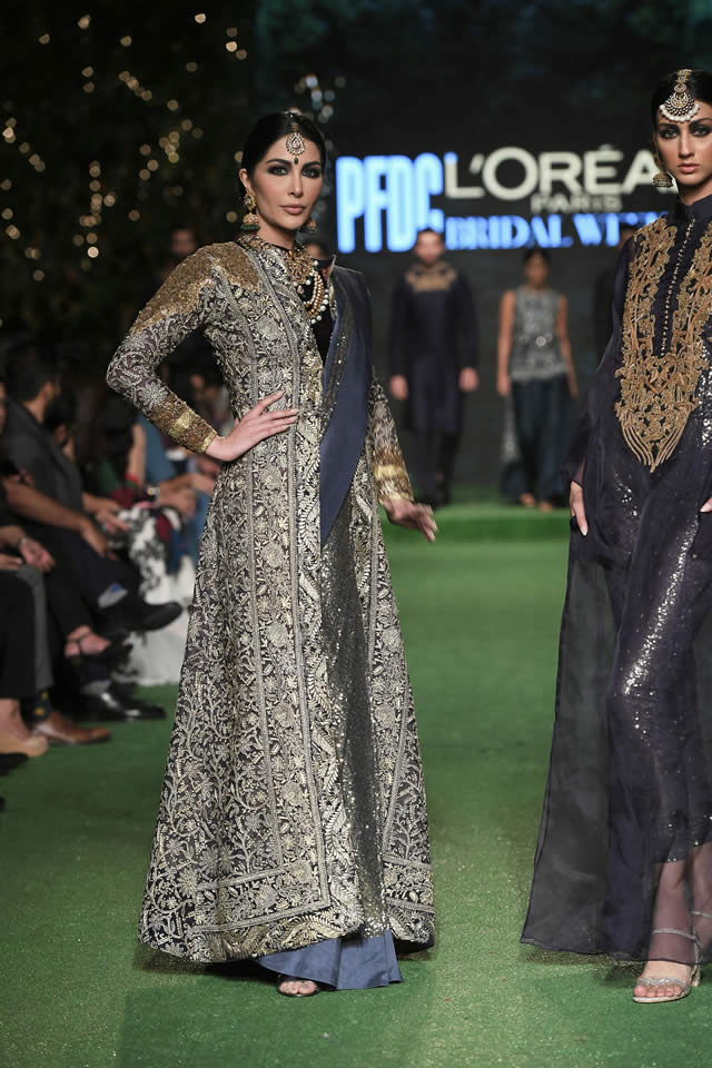 HSY Showcased Bridal Empire Collection at PFDC LOreal Paris 2019 (7)