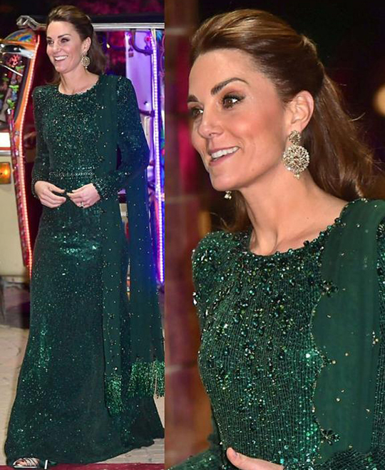 Kate Middleton Dresses 8 Style During Her Trip To Pakistan (13)