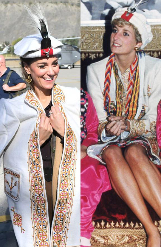 Kate Middleton Dresses 8 Style During Her Trip To Pakistan (5)