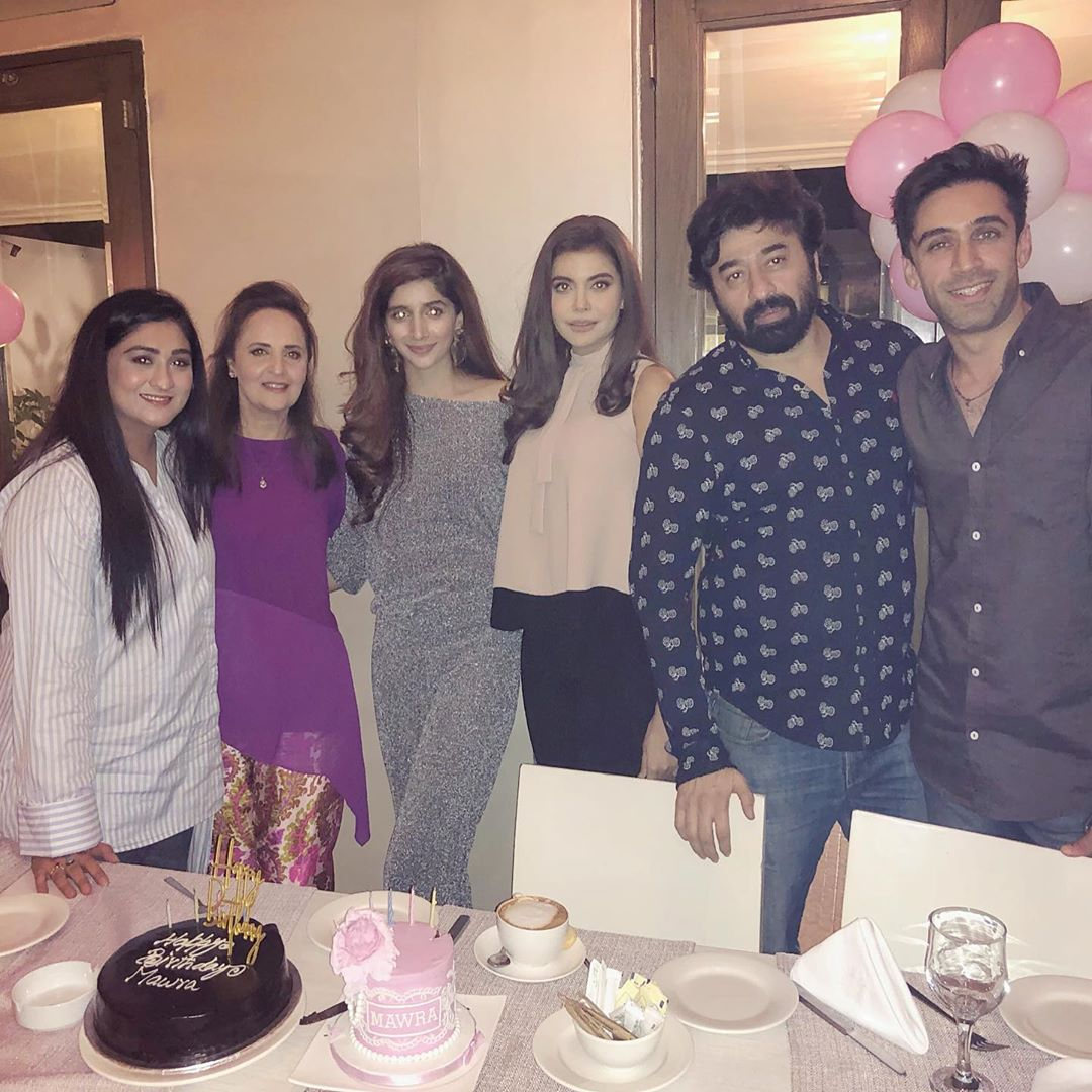 Mawra Hocane Celebrate Birthday in Karachi (7)