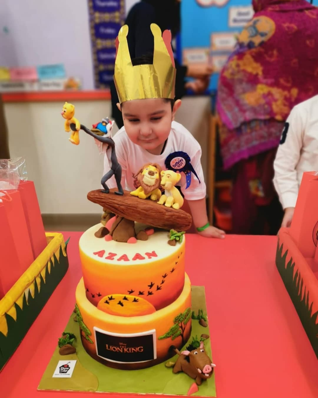 Pakistani Actor Ahmed Ali Butt Celebrate his Son Azaan Birthday Images (3)