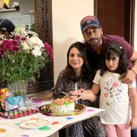 Pakistani Actor Faisal Qureshi Celebrate His Wife Sana Faysal Birthday (1)