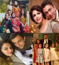Pakistani Actor Shan Shahid Latest Images with Family (1)
