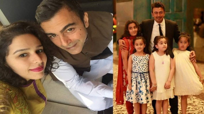 Pakistani Actor Shan Shahid Latest Images with Family (5)